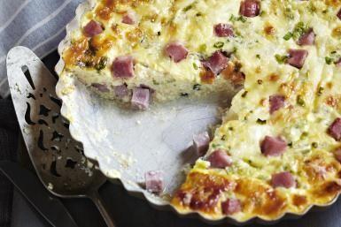 Ham and Swiss Cheese Quiche - Jodi Pudge/Radius Images/Getty Images