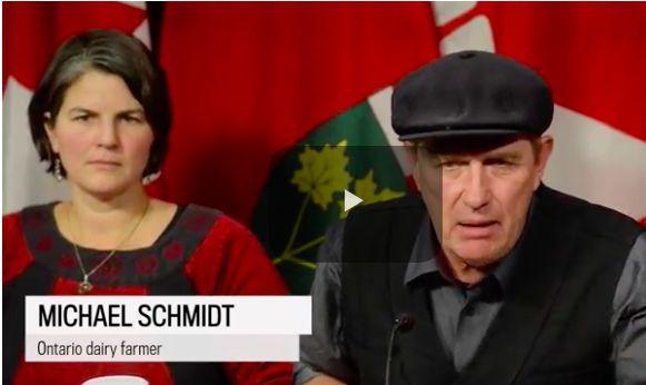Michael Schmidt a long time advocate of Natural Milk.
