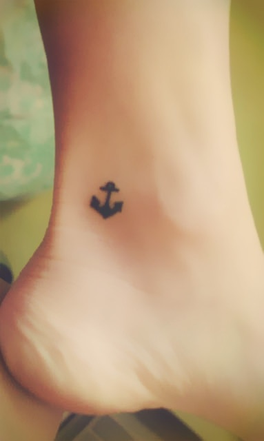 Anchor Tattoo, size & placement