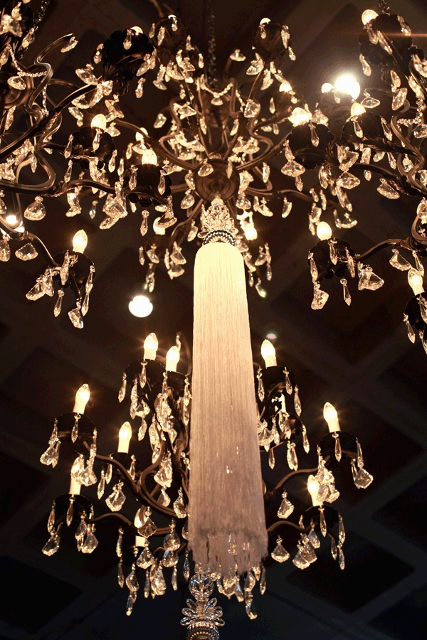 FAB Crystal Chandeliers With Drippy 4ft Tassels Empire Designs Canton Ohio Events Gallery
