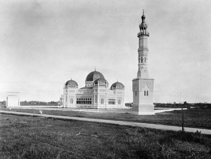 De groote moskee van Medan 1910.