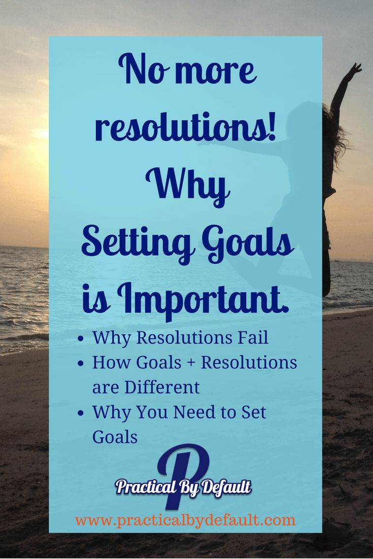 New Year's resolutions are everywhere and yet..they fail. Find out why they fail, how you can avoid them by setting goals instead.