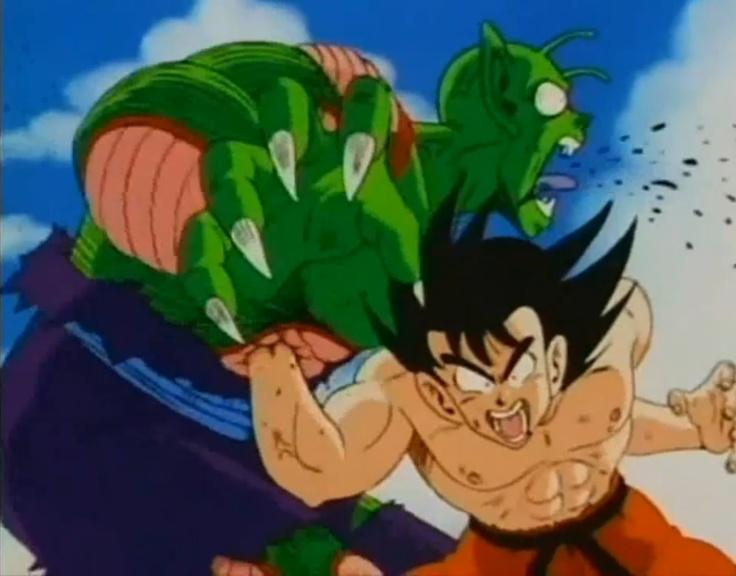 Mientras tu me ignoras, Goku pelea por salvar el universo..