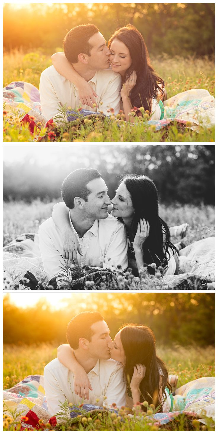 DFW Fort Worth photographer Angela Wynn photography: engagement session, cute, field, quilt, back light, gorgeous, love, wild flowers, summer session, styled, fun, nature, portrait ideas, beautiful, photography, creative, unique, couples ideas, engagements, young love, classy,