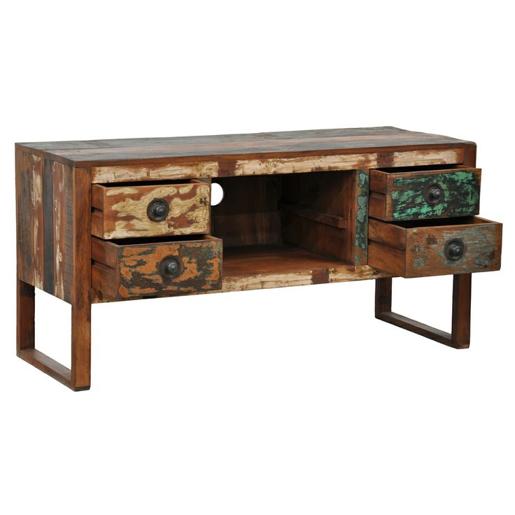 1000 ideas about reclaimed wood tv stand on pinterest rustic bench industrial furniture and - Reclaimed wood tv stand ideas ...