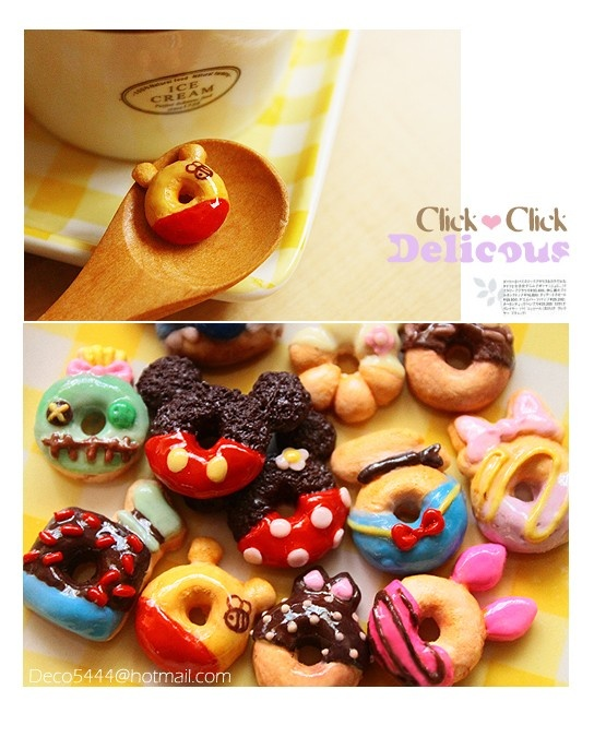 Disney themed mini donuts! These are just tooo cute!
