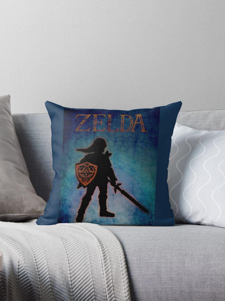 Save 20% sitewide with code CHOICES. Legend of Zelda Throw Pillow. #legendofzelda #Link #zeldapillow #zeldagifts #gamer 3gaming #gamergifts #homedecor #save #sales #discount #kidsroom #kids #videogames
