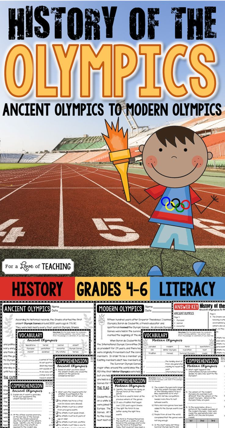 a history of the olympics The ancient greek olympics in 776 bce, about three thousand years ago, the first olympic games took place originally, the games were part of a religious festival.