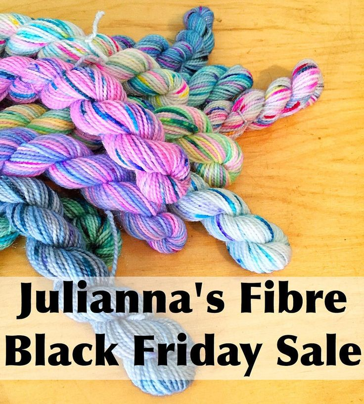 I'm planning a sweet discount in my shop for Black Friday weekend. I wanted to give you a bit of advanced notice so if you'd like to partake you can plan out your order ahead of time  #juliannasfibre