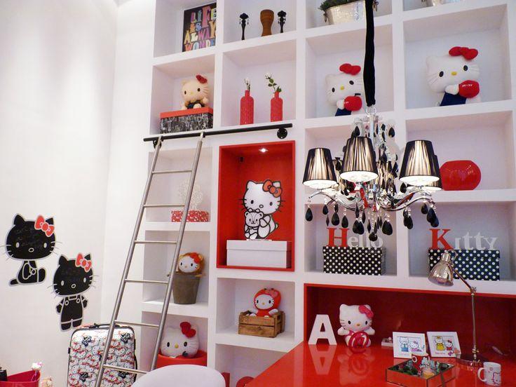 Caixas Maxi Poá Boxmania no ambiente Hello Kitty da Casa Cor 2014 São Paulo.