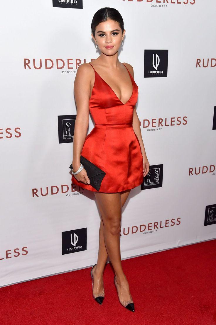 selena gomez red dress - Google Search