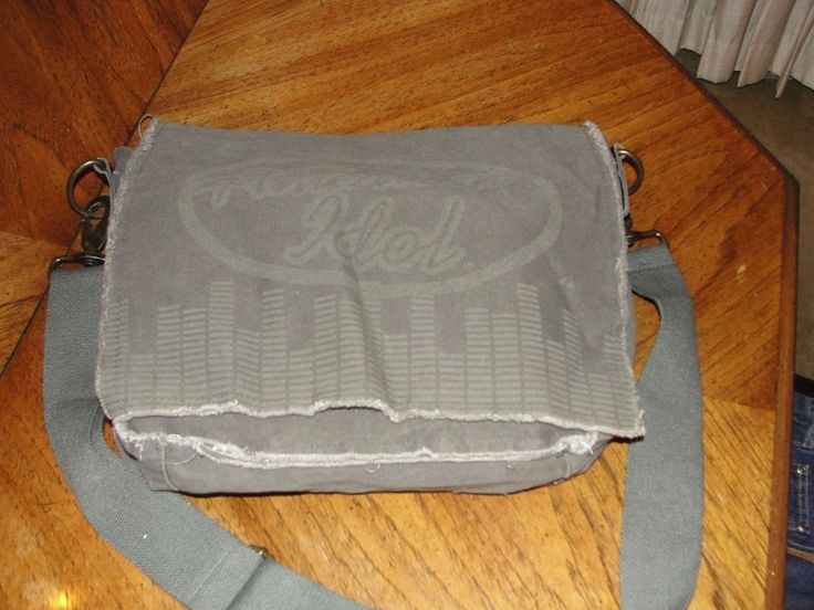 Man bag, mailbag, book bag, Computer bag. Gear Bag  Official American Idol gear.