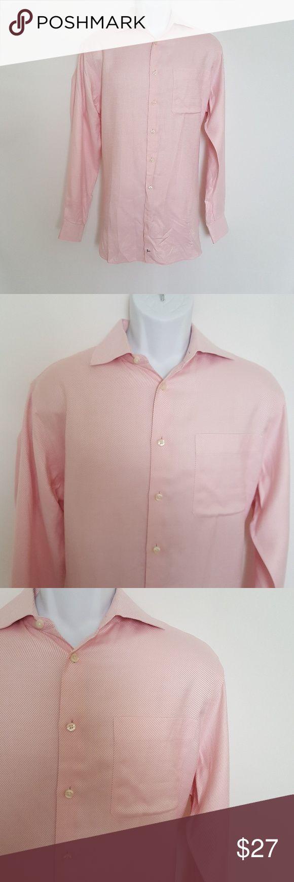 John w nordstrom pink longsleeves mens shirt sz s