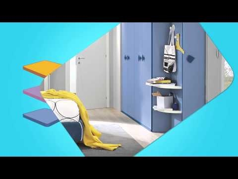 Colored doors for infinite compositions