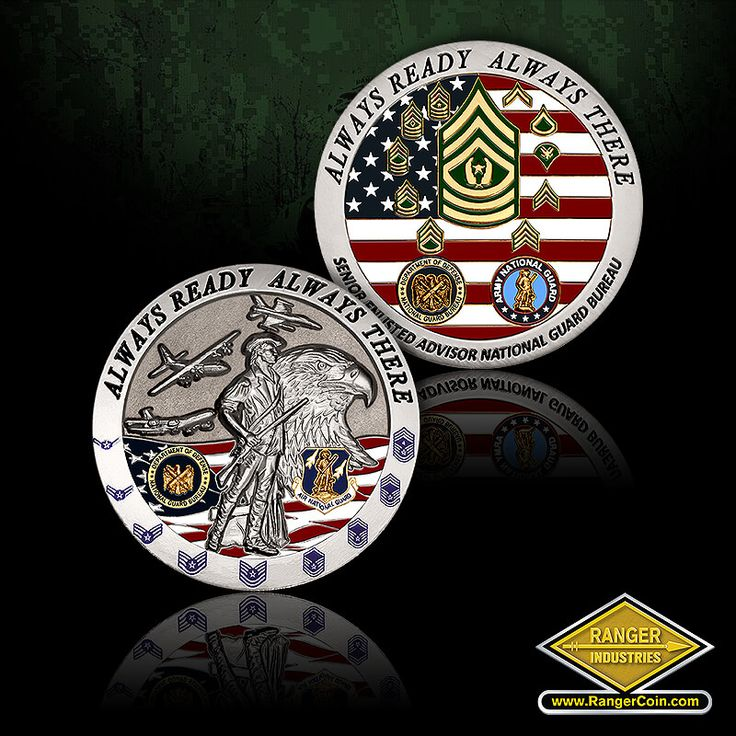 National Guard Bureau Senior Enlisted Advisor coin