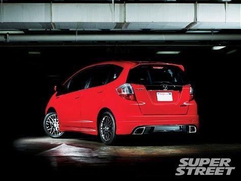 Honda Fit Sport #red