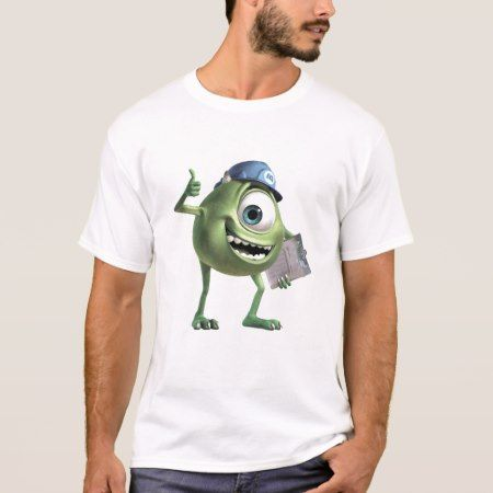 Monsters, Inc.'s Mike Thumbs Up Disney T-Shirt - click/tap to personalize and buy