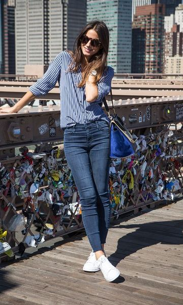 Moda it - Look French Icon: Blusa Listrada | Moda it  shop PACSUN http://spotpopfashion.com/zok5