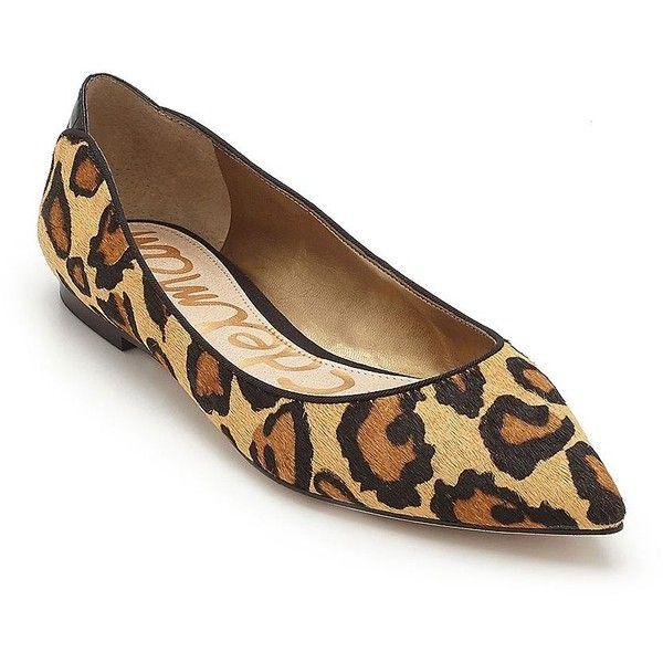 sam edelman leopard print flats