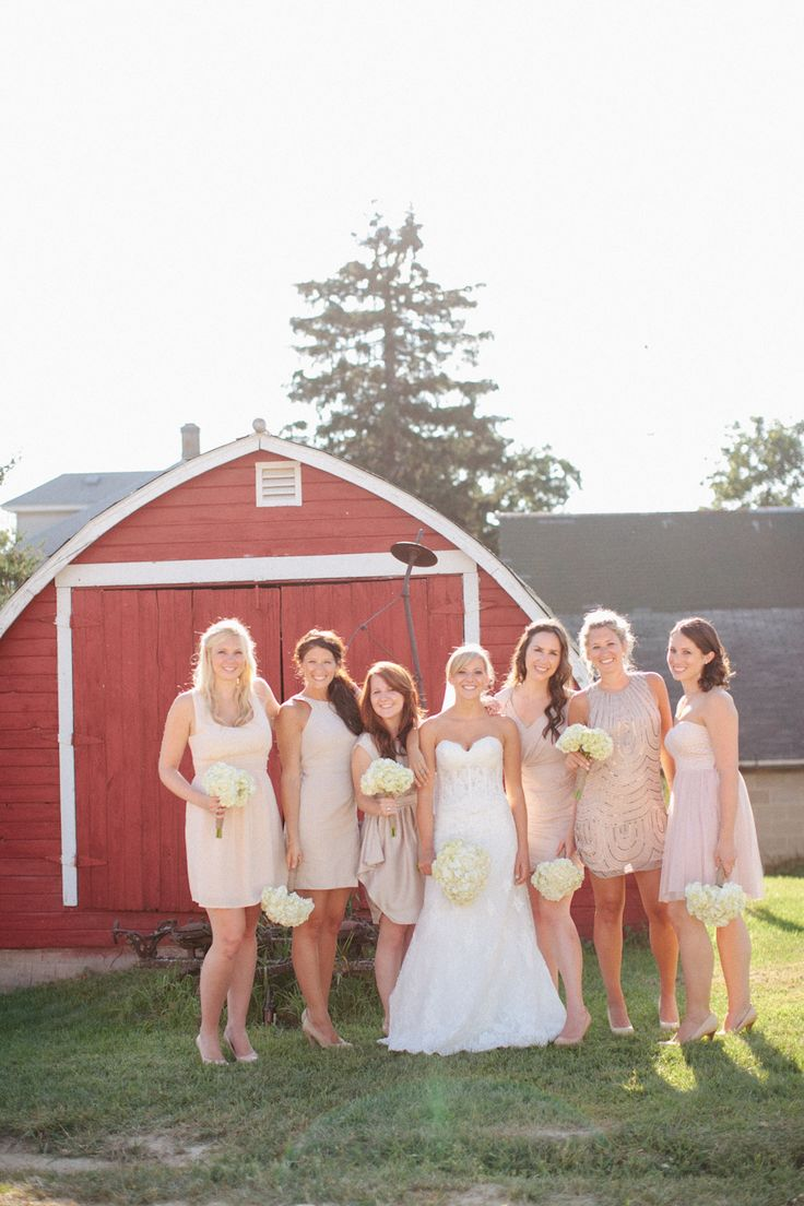 140 best bridesmaids images on pinterest bridesmaids wedding bridesmaids in blush ombrellifo Images