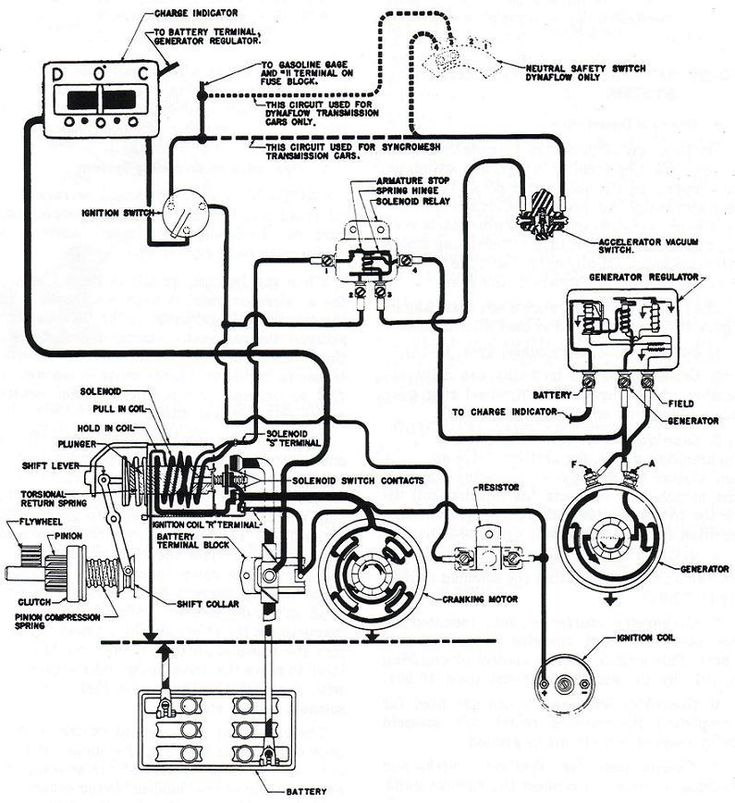 car starter internal wiring diagram   35 wiring diagram