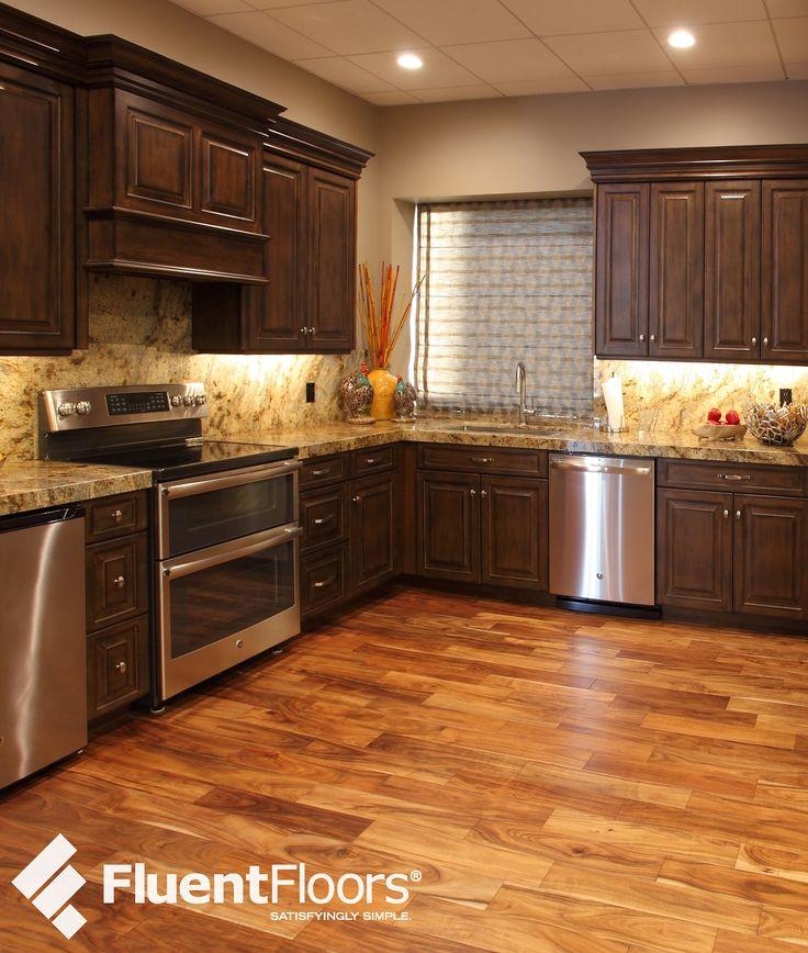 fluent floors eh06 engineered hand scraped natural Dark Oak Kitchen Painted Cabinets Dark Oak Kitchen Painted Cabinets