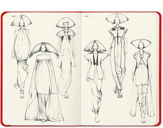 Sketch Book for fashion designers Fashionary
