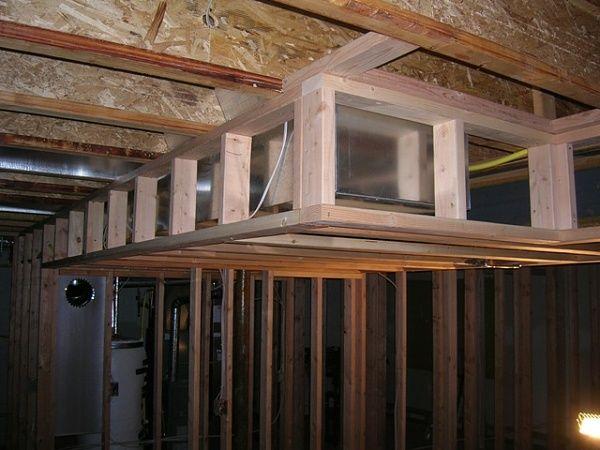 basement soffits building construction diy chatroom diy