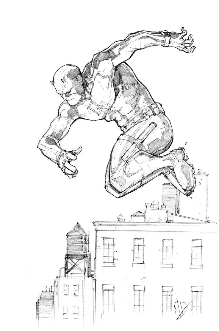 Daredevil by Max-Dunbar.deviantart.com on @DeviantArt