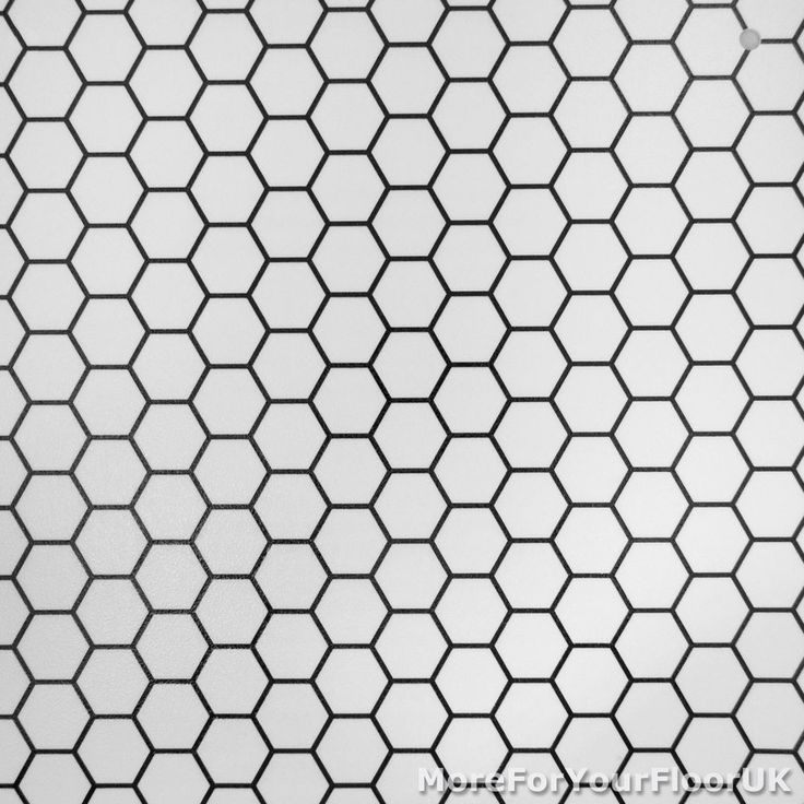 CHEAP Modern Vinyl Flooring, Black & White Hexagon Vinyl, Kitchen Bathroom Hall in Home, Furniture & DIY, DIY Materials, Flooring & Tiles | eBay