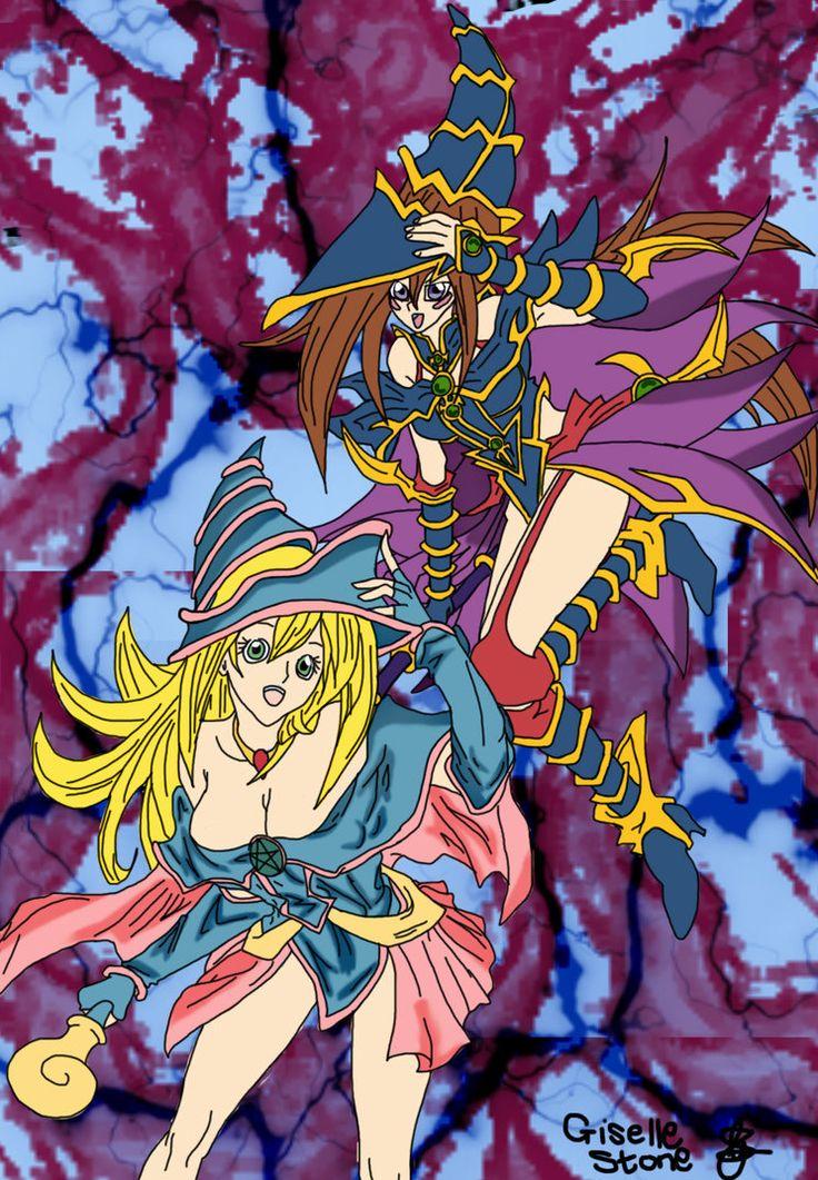 Dark Magician Girl and Magician's Valkyria Fan art by GunRaider on DeviantArt