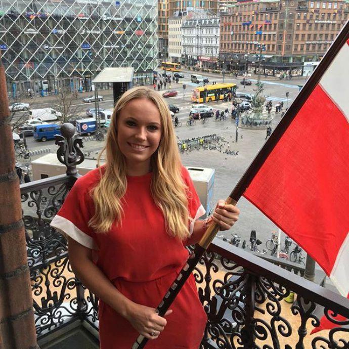 Wozniacki é escolhida porta-bandeira da Dinamarca na abertura do Rio 2016 #globoesporte