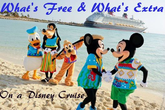 What Comes Free (and What Doesn't) With a Disney Cruise