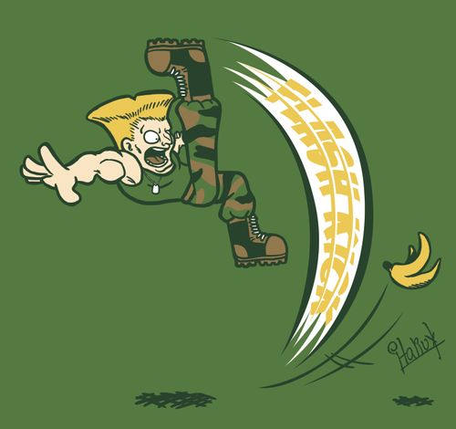 Guile and the banana