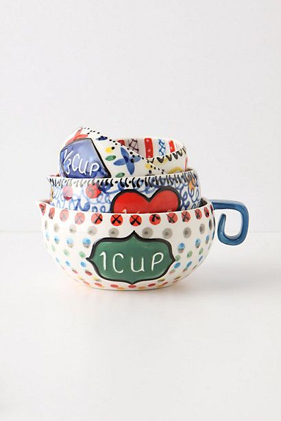 Cucina Measuring Cups #anthropologie