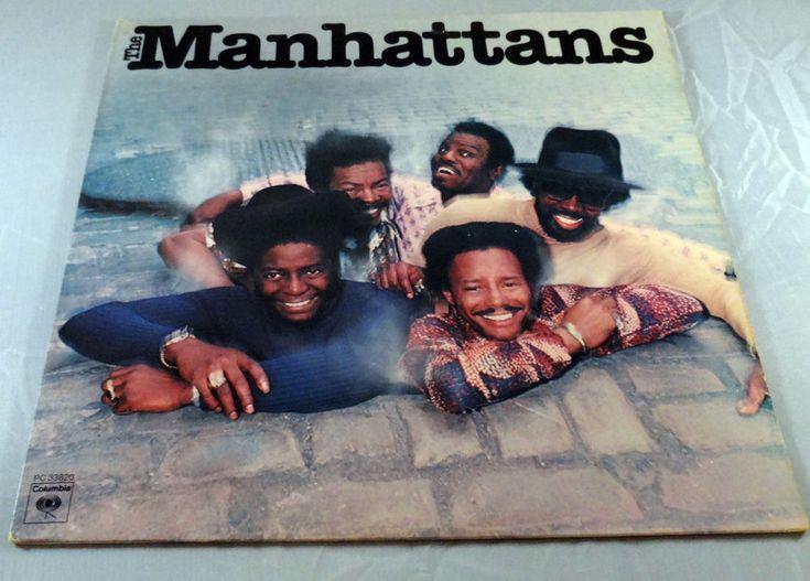 The MANHATTANS Self S/T Titled RARE Vinyl LP 1976