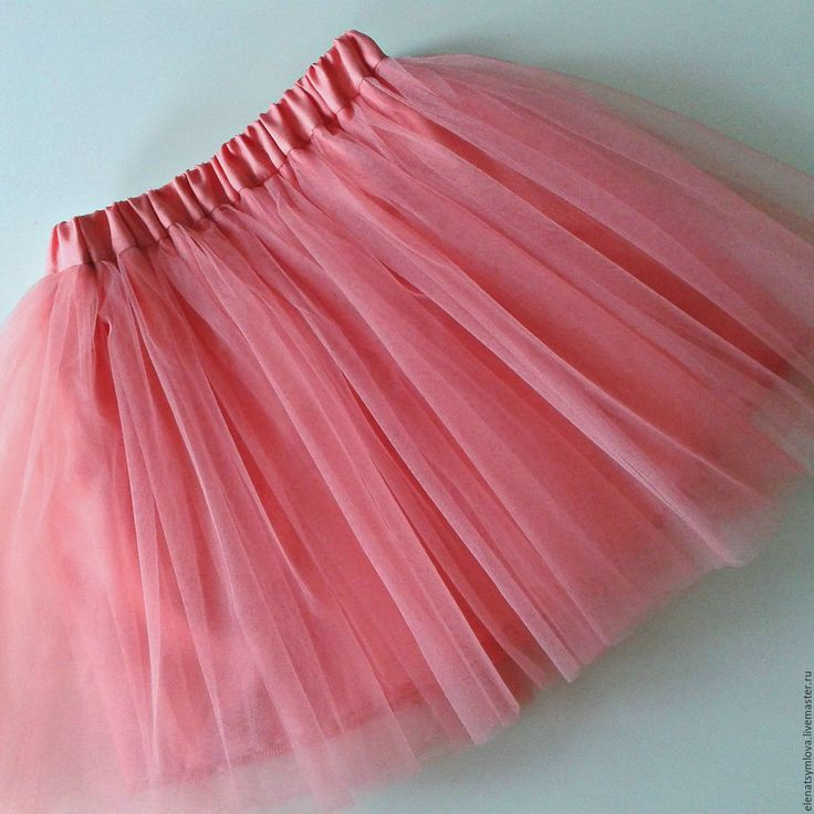 Детская юбка из ткани пышная