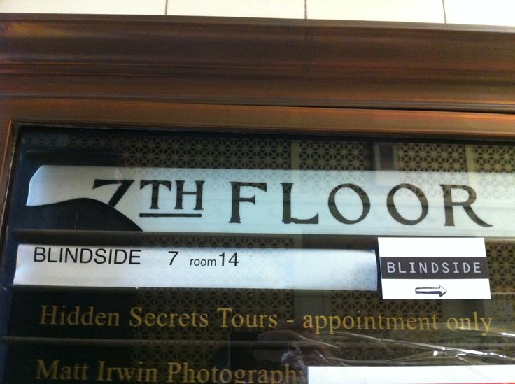 The 7th floor, where blindside was located.  I really liked the style of the building. its wasn't modern like I envisaged.