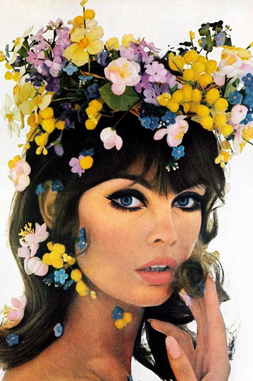 vintagegal:  Jean Shrimpton photographed by Bert Stern, 1965