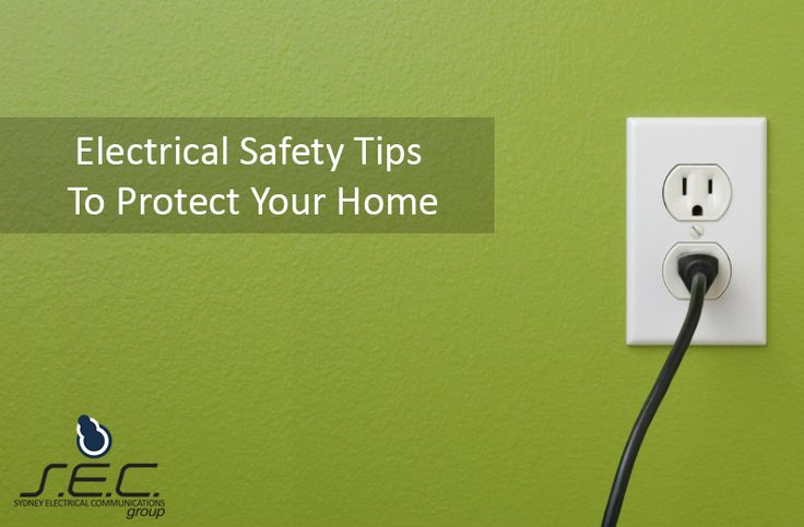 6 #DIY Electrical Safety Tips to Protect Your Home #SECGroup #SafetyTips http://www.secgroup.com.au/6-diy-electrical-safety-tips-to-protect-your-home/