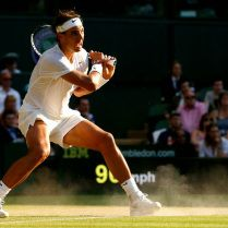 Rafael Nadal Wimbledon by Ella Ling