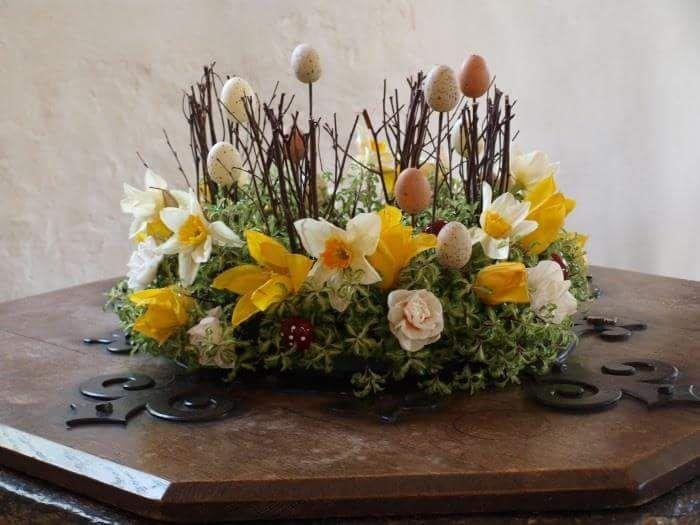 10++ Easter flower arrangements ideas inspirations