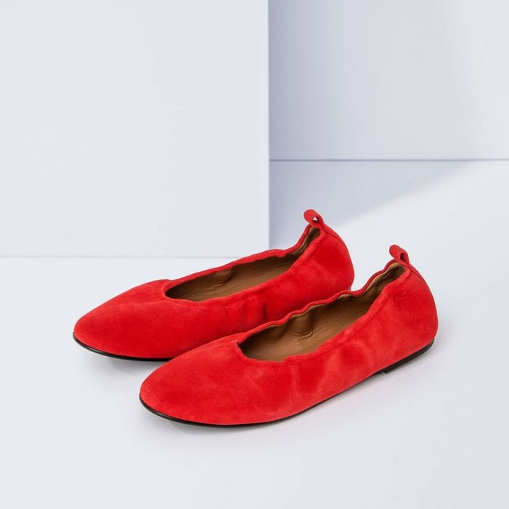 Polina - Red Suede