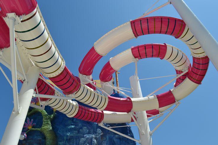 Aqua Park Laguna super slide! #acquapark #camping #fun #kids #summer #waterslide