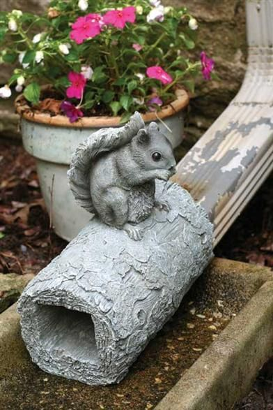 SQUIRREL DOWNSPOUT, Victorian Trading Co