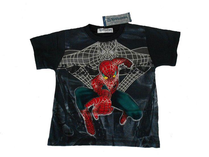 Triko. Triko s krátkým rukávem Spiderman.