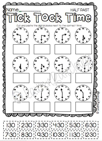 1000+ ideas about Telling Time Activities on Pinterest | Telling ...