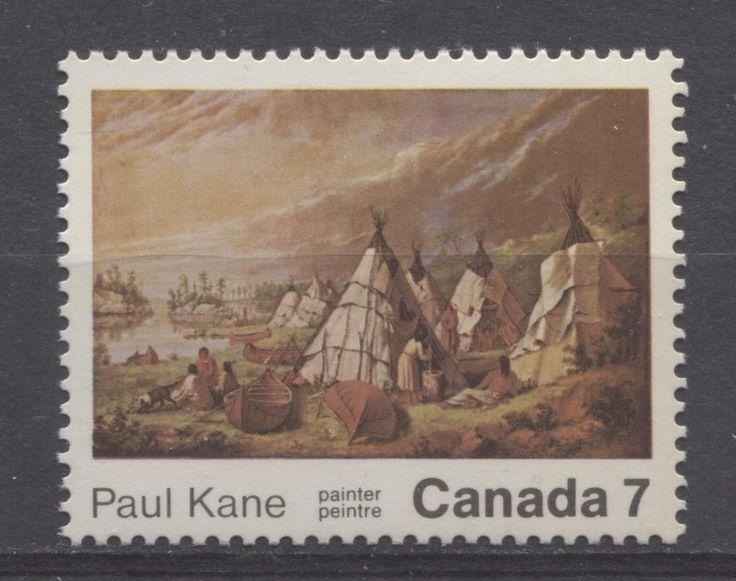 Canada #553 1971 7c Paul Kane Death Centenary HB/DF VF-75/80 NH | eBay