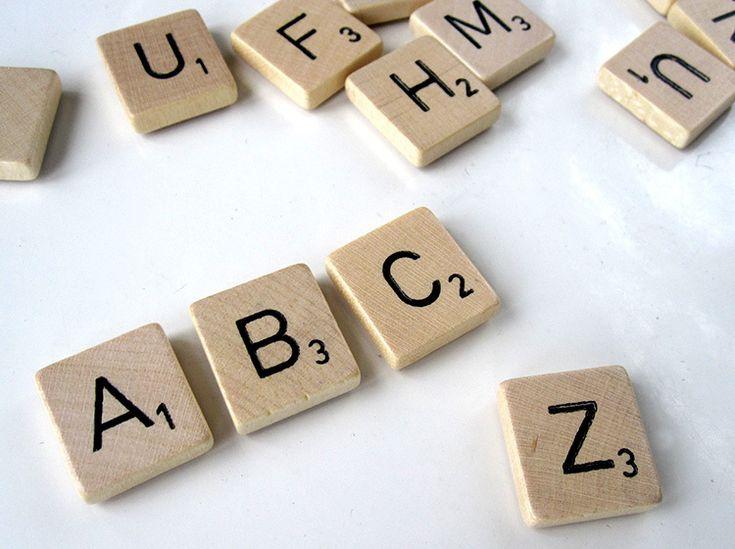 ABC _ Scrabble Magneten van renna deluxe op DaWanda.com