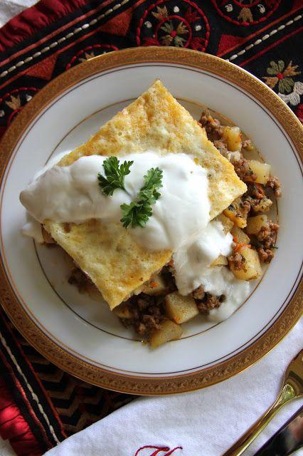 Bulgarian Musaka…pretty close to perfection. Recipe on the blog.